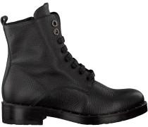 Schwarze Tosca Blu Shoes Schnürboots SF1710S198