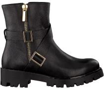 Schwarze Tosca Blu Shoes Biker Boots SF1713S243