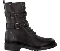 Schwarze Omoda Biker Boots 63A011