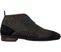 Graue Floris van Bommel Business Schuhe 10960