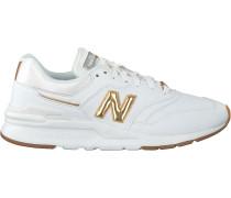 Weiße New Balance Sneaker Low Cw997