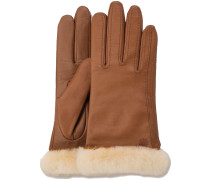 Cognac UGG Handschuhe CLASSIC LEATHER SMART GLOVE