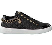 Schwarze Guess Sneaker FLGLI3 LEA12