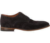 Braune Van Lier Business Schuhe 4036