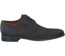 Graue Van Lier Business Schuhe 5450