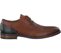Cognac Van Lier Business Schuhe 5338