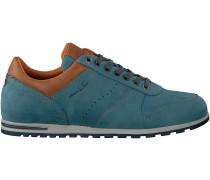Blaue Van Lier Business Schuhe 7230
