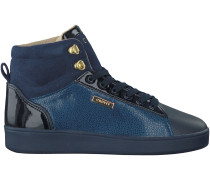 Blaue Cruyff Classics Sneaker SYLVER
