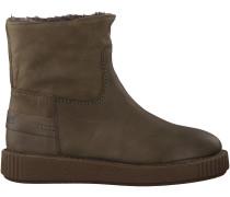 Grüne Shabbies Ankle Boots 181020028