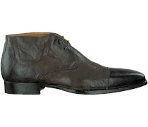 Taupe Greve Business Schuhe Barbera hoog