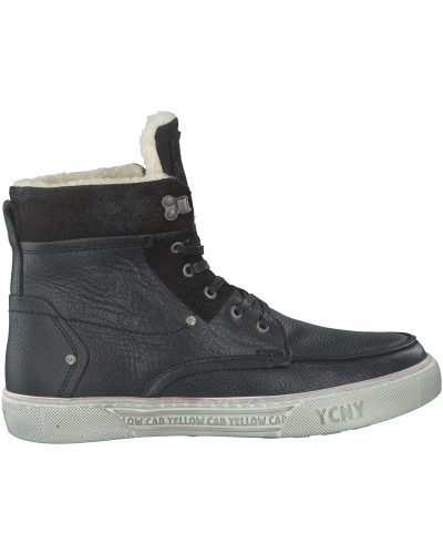 Schwarze Yellow Cab Ankle Boots Y18062
