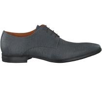 Graue Van Lier Business Schuhe 6050