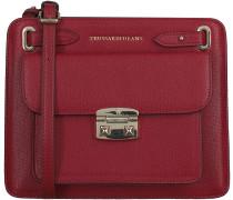 Rote Trussardi Jeans Handtasche 75B465