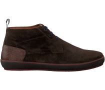 Braune Floris van Bommel Ankle Boots 10989