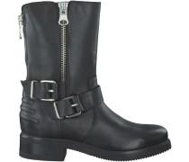 Schwarze Omoda Biker Boots R13186