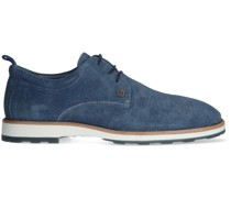 Rehab Business Schuhe Pozato Stripes 121a Blau Herren