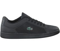 Schwarze Lacoste Sneaker ENDLINER