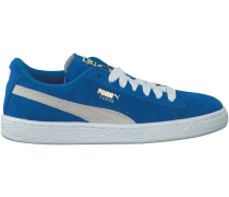 Blaue Puma Sneaker SUEDE JR