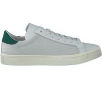 Weiße Adidas Sneaker COURTVANTAGE HERREN