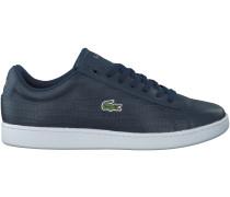 Blaue Lacoste Sneaker CARNABY EVO 3