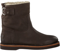 Braune Shabbies Ankle Boots 181020054