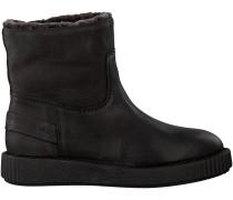 Schwarze Shabbies Ankle Boots 181020028