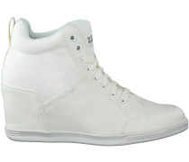 Weisse G-Star Sneaker NEW LABOUR