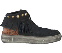 Schwarze Karma of Charme Boots ULURU ETHNIC