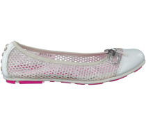 Silberne Replay Ballerinas FLINT