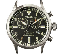 Silberne Timex Uhr (ohne Armband) WATERBURY CHRONO