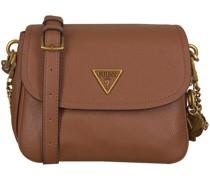 Guess Umhängetasche Destiny Shoulder Bag Cognac Damen
