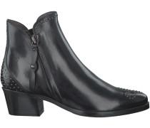 Schwarze Maripé Stiefeletten 23562