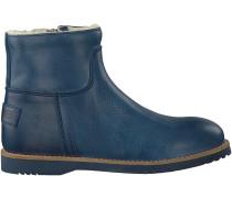 Blaue Shabbies Stiefeletten 172-0141SH