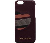 Lila Michael Kors Handy-Schutzhülle PHONE COVER IPHONE 6