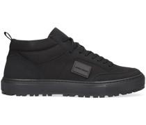 Sneaker High Mmfw01412 Schwarz Herren