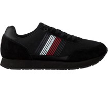 Tommy Hilfiger Sneaker Low Corporate Runner Schwarz Herren