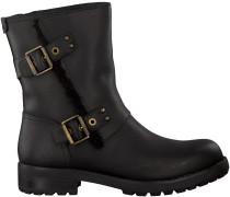 Schwarze UGG Biker Boots NIELS