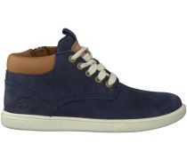 Blaue Timberland Boots GROVETON LEATHER CHUKKA