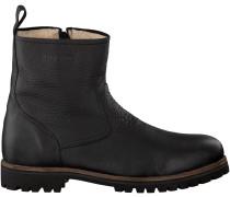 Schwarze Blackstone Ankle Boots OM63