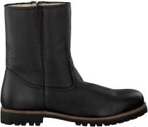 Schwarze Blackstone Stiefel OM21