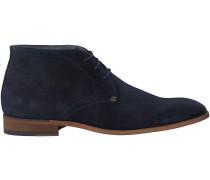 Blaue Omoda Business Schuhe 7340