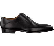 Schwarze Magnanni Business Schuhe 18913