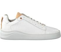 Fred de la Bretoniere Sneaker Low 101010125 Frs0626 Weiß Damen