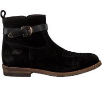 Schwarze Clic Stiefeletten 9201