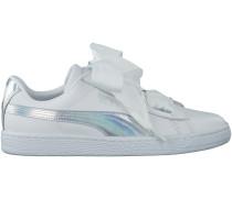 Weisse Puma Sneaker BASKET HEART EXPLOSIVE