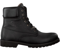 Schwarze Panama Jack Ankle Boots PANAMA HEREN 03 AVIATOR