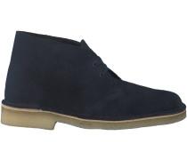 Blaue Clarks Boots DESERT BOOT DAMES