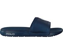 Blaue Polo Ralph Lauren Pantolette Rodwell
