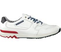 Weiße Floris van Bommel Sneaker 16220