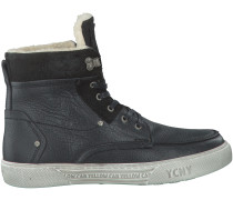 Schwarze Yellow Cab Boots Y18062
